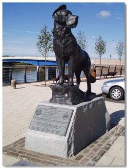 Bamse statuen
