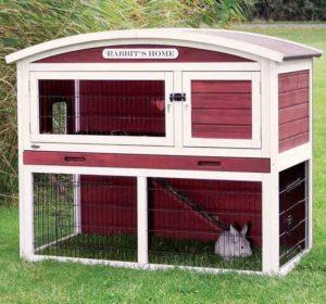 Udendørs kaninbur